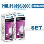 DE PHILIPS D2S 5000k Colormatch