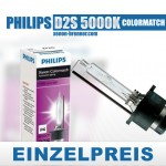 DE-PHILIPS-D2S-5000k-single