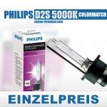 DE-PHILIPS-D2S-5000k-single
